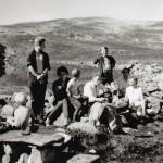 14 ErikErland,JosteinHals,JohanneOGRoarHelge,OleRendal,TerjeOGLauraNordvik,EllenRendal ved Vassnebbvatnet