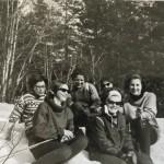 15 Bak RandiHalset,AnnaTørset,ÅseHalset,JorunnHals, fremst Gjertrud Hals Solveig Hole,gift Kalland 1945-1981