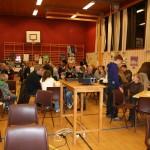 Mykje publikum. Foto: Marte Talgø
