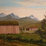 10 Maleri Nestusetra på Hjellnes P Gjerstad 1953