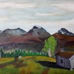 20 maleri av Anders N Gjeldnes