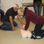 Førstehjelp- og hjertestartarkurs