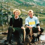 16 Torill Gjeldnes og Brit Grønmyr ved ytre neådalsvatnet