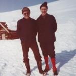 29Gundmund Kårvatn Halle og Magne Frei ved løa på Naustådalsetra