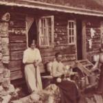 5oh_På Naustådalssetra i 1919