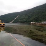 13 Jon Gunnar Holten og Geir Øye starter nedgravingen av spillvannsledningen