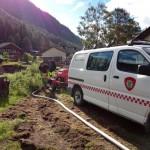 2 Victor Grøtte og Todalen Brannvesen bistår