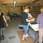 Matkomiteen er og i fullt arbeid. Foto: Gudmund Kårvatn
