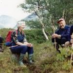 3 Idar,IngridHalle,OlaHusbyOGErikØyen på Haukarsteinen