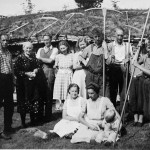7 Slåttefolk på Nordviksetra 1947