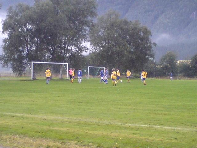 Fotballkamp  på  Bordholmen