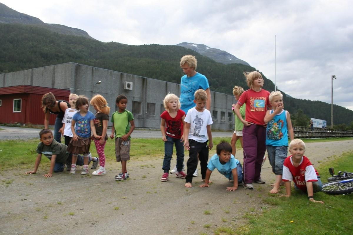Lagseriestevne på Bordholmen