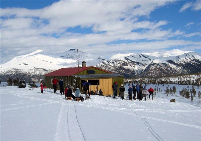 Skihytta på Ørsalfjellet. Arkivfoto: Jon Olav Ørsal