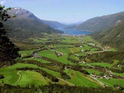 Utsikt over Todalen. Foto: Jon Olav Ørsal