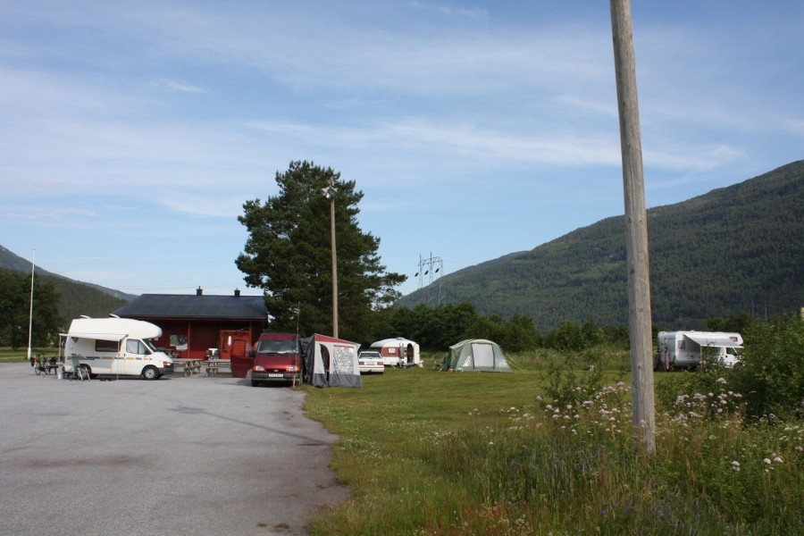Camping  i  Todalen