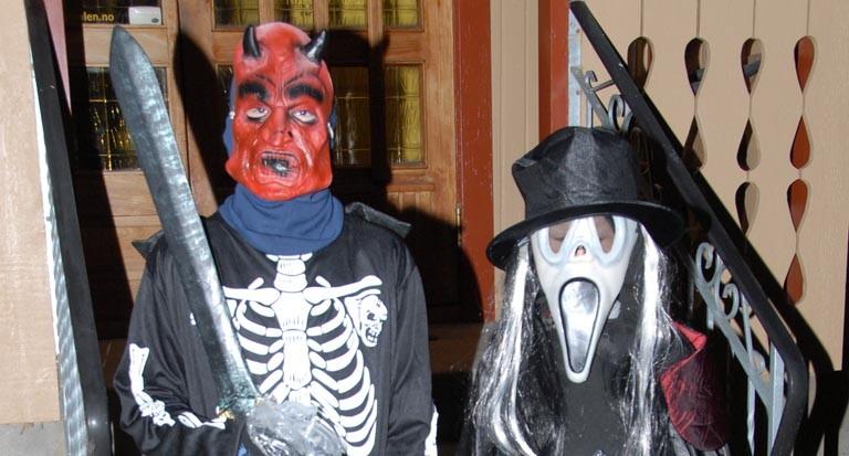 Halloween  feires  i  kveld