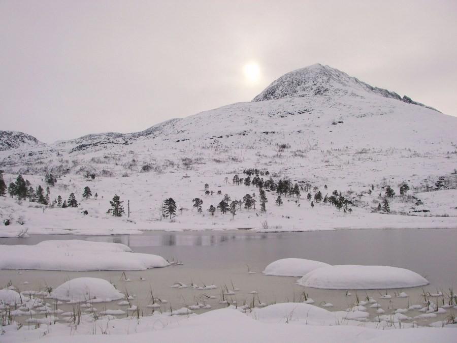 Vinterleg  haustlandskap
