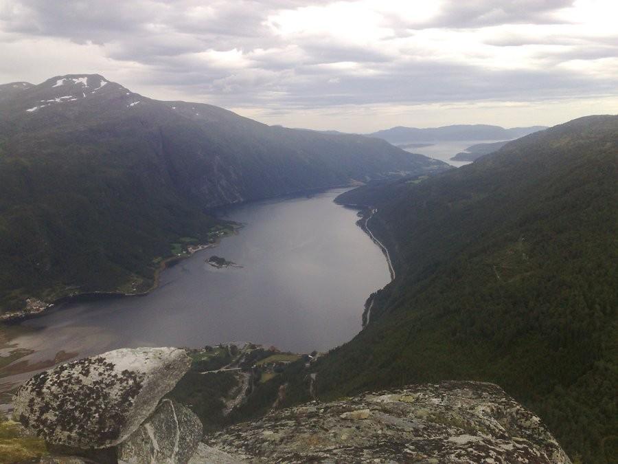 Utsikt  fra  Kulihammar`n
