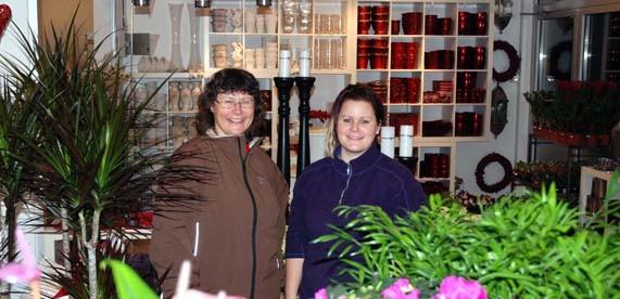 Ny blomsterbutikk