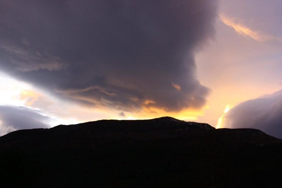 Kveldssol  over  Blåfjellet
