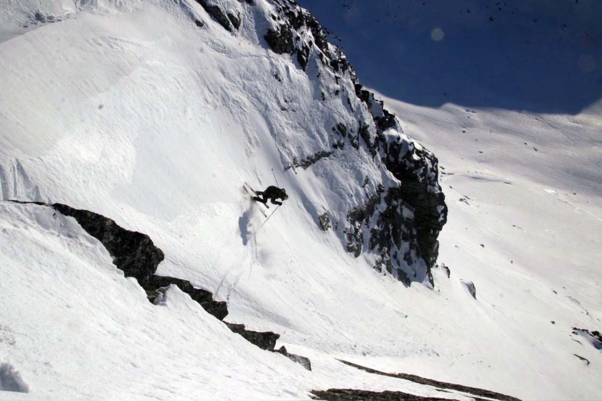Ned frå Tydalsnebba.  Arkivfoto 2010: Gudmund Kårvatn