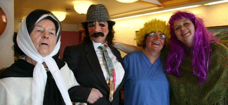 Karnevalstid  på  Aldersheimen