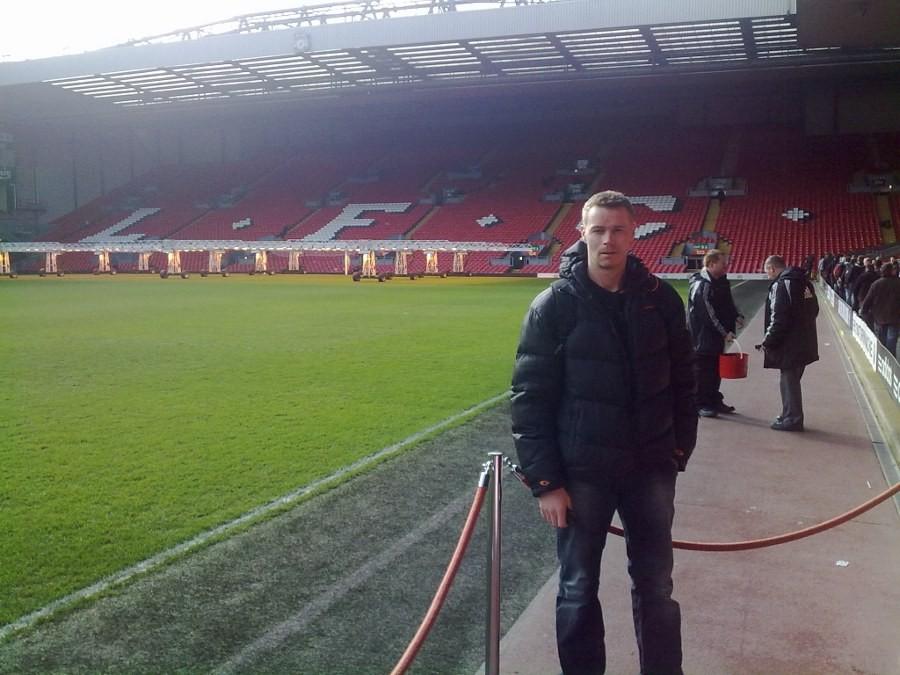 Guttetur  til  Anfield
