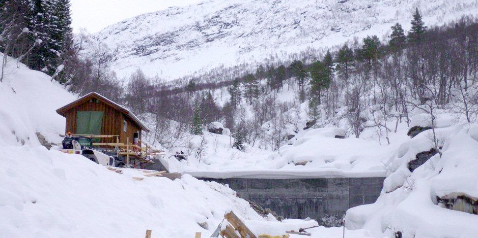 Råssåfoss Kraftverk – snart prøvedrift