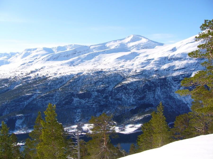 Fjord  og  fjell