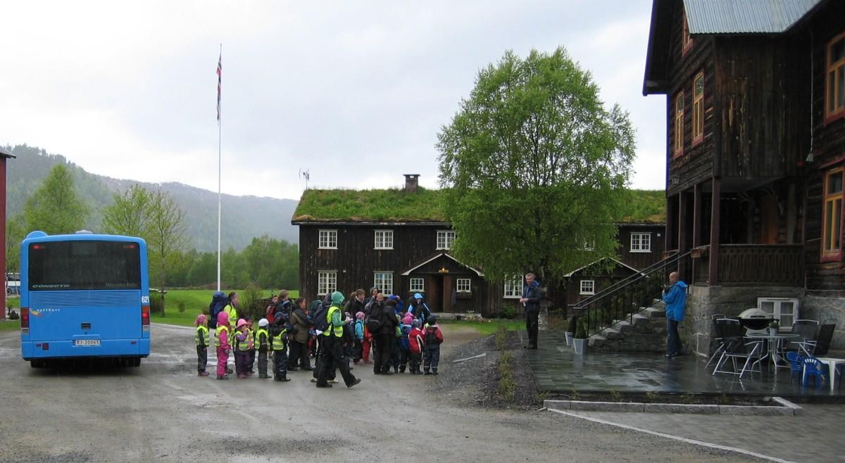 Opplevelsestur  til  Kårvatn.