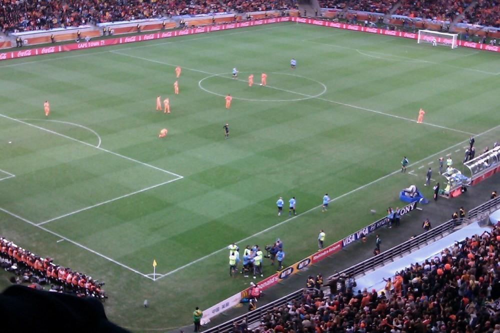 Fotballhilsen  fra  Sør-Afrika