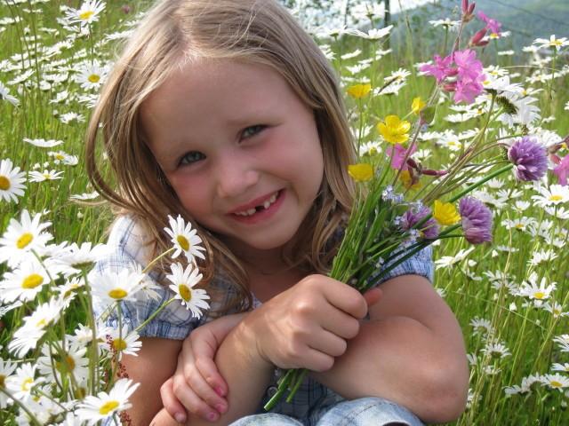 Blomsterpiken