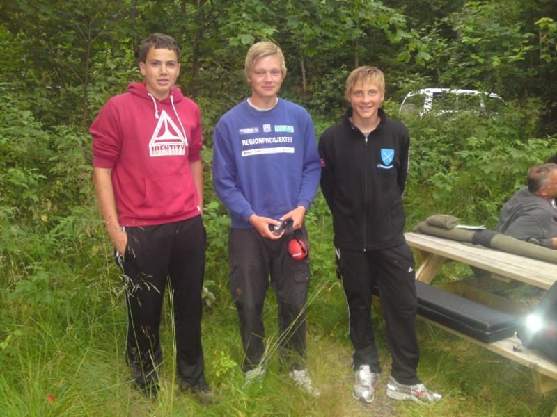 Endre, Emil og Ola er rekruttar.