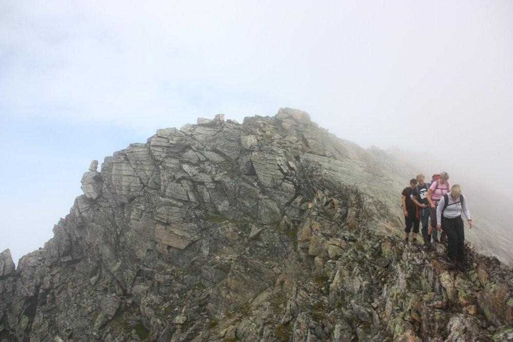 Tur over Skjerdingfjellet