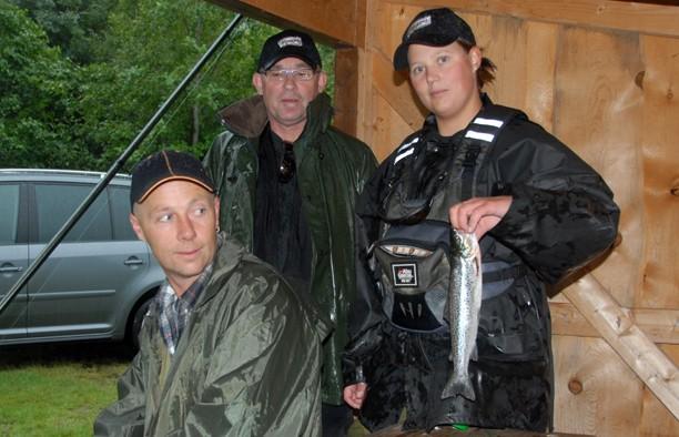 Med regnværet kom fiskarane att
