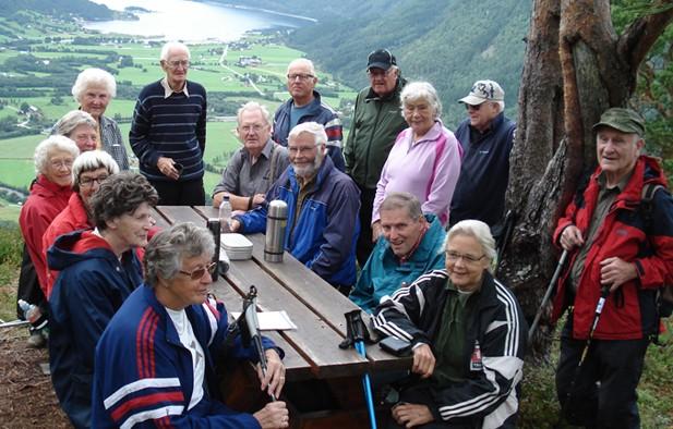 Arkivbilete frå ein tur til Storhaugen i 2010.  Foto: Randi Sogge