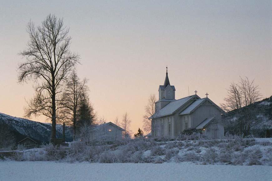 Endra  kyrkjeprogram  i  desember