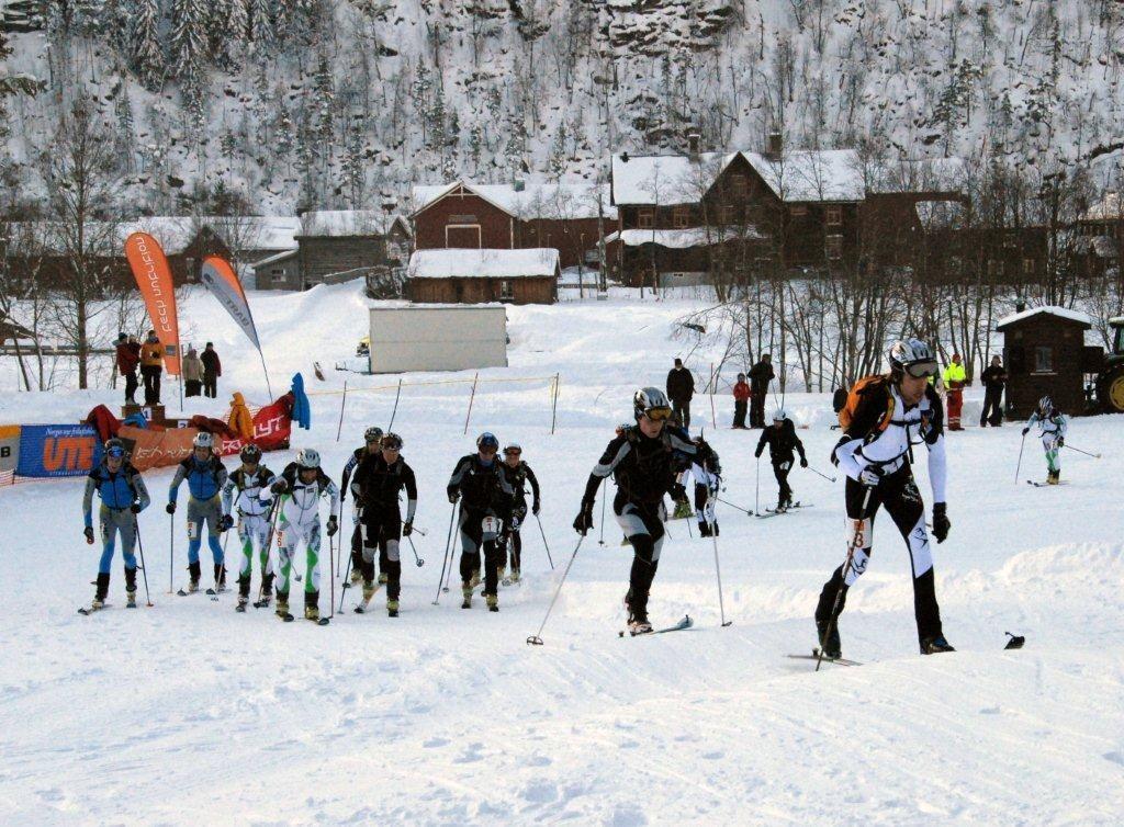 NorgesCup  på  Kårvatn  i  januar