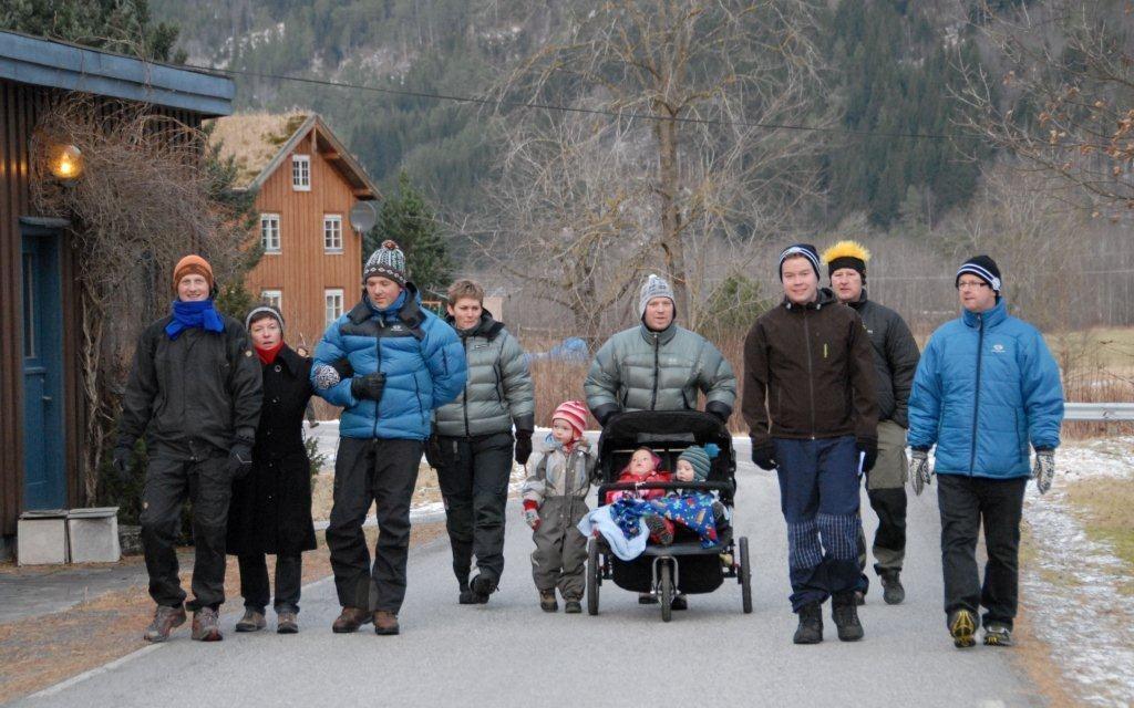 Frå romjulsmarsjen i 2010.   Arkivfoto: Jon Olav Ørsal