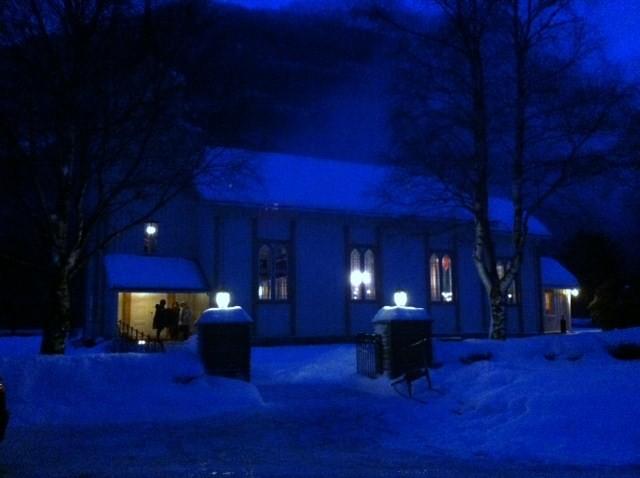 Julekveldsgudsteneste i Todalen kyrkje kl. 14:00