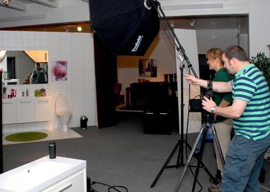 Canonfotograf i aksjon på Gammelfabrikken