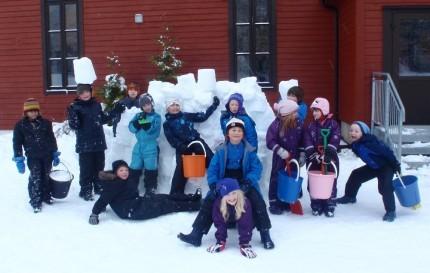 Snø  til  glede