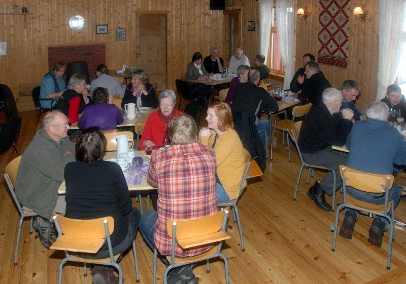 Balldag på Nordvik - arkivbilde frå 2011.  Arkivfoto: Jon Olav Ørsal