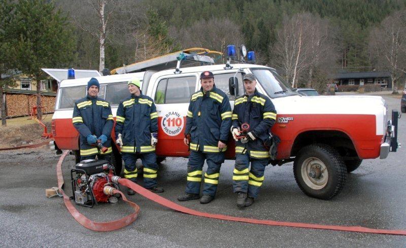 Brannbilen som Todalen brannlag disponerer.  Arkivfoto: Jon Olav Ørsal