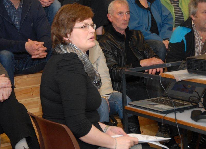 Siv Oddrun Snekvik er prosjektkoordinator for bygdebokprosjektet som starta i 2011 Arkivfoto: Jon Olav Ørsal
