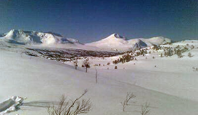 Fine forhold på fjellet