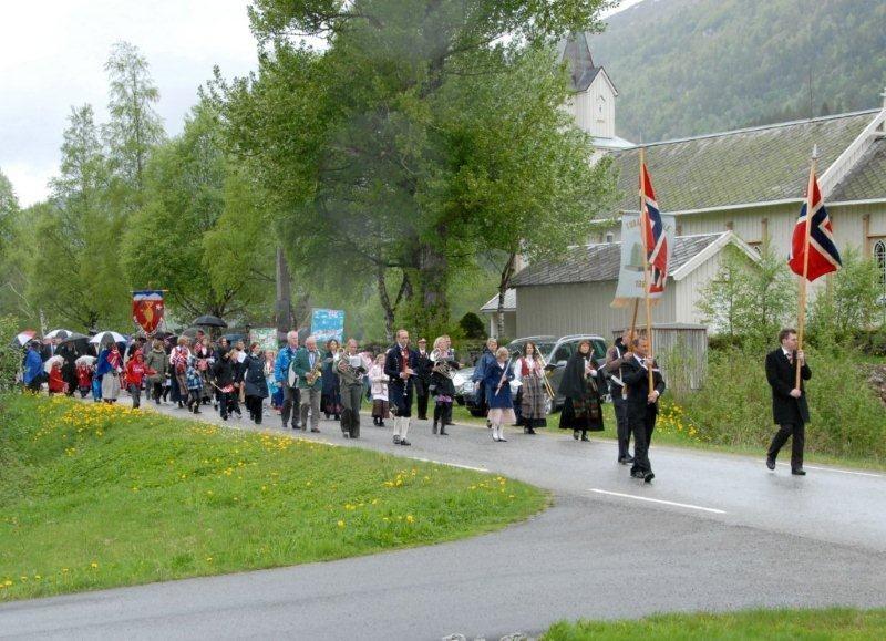 Folketoget i Todalen i 2011   Arkivfoto: Jon Olav Ørsal