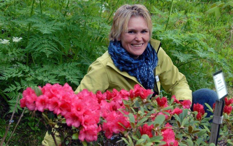 Bra besøkt hagedag i arboretet