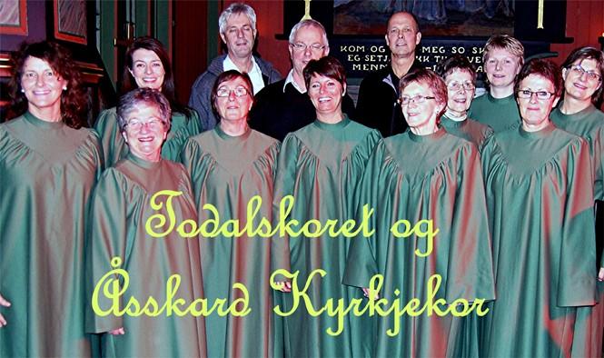 Vårsøgkonsert  i  Todalen  kyrkje  –  Tonar  under  kyrkjetårn