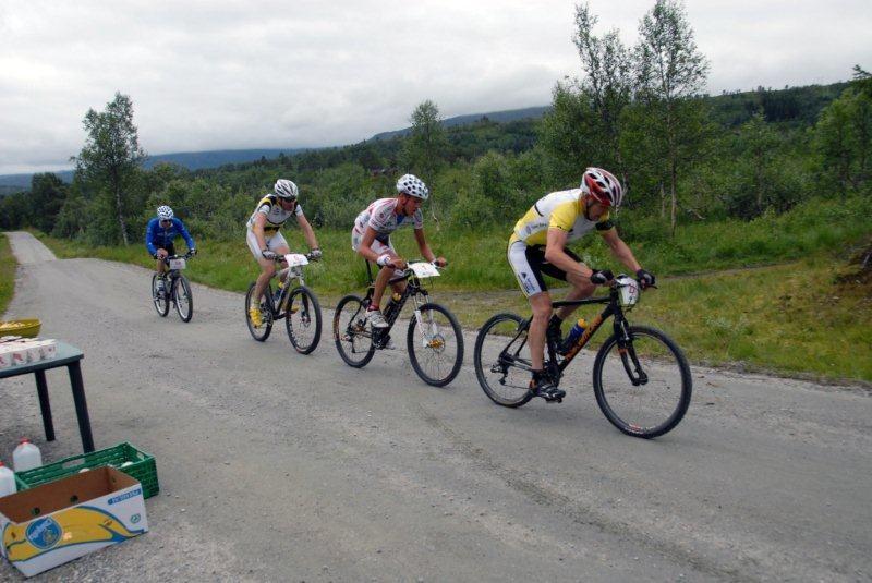Ola  Inge  Drøpping  vann  Nordmarkstråkket